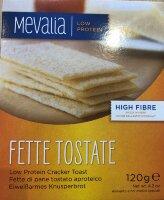 Хлебцы хрустящие низкобелковые Fette Tostate Mevalia