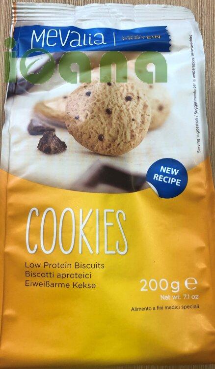 Печенье с шоколадной крошкой безбелковое Cookies Mevalia