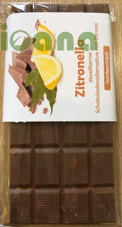 Шоколад безбелковый с лимоном Zitronella Huber