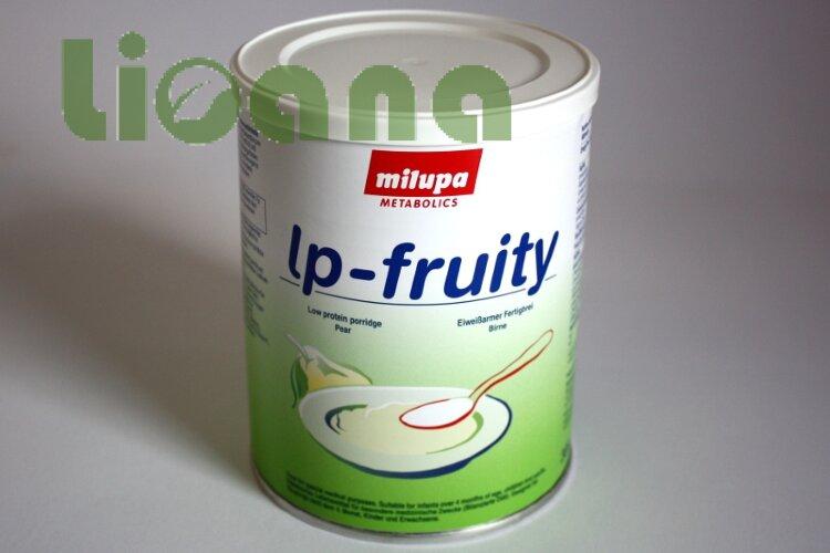 Каша безбелковая Milupa lp-fruity со вкусом груши 300 гр.