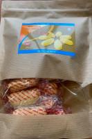 Печенье безбелковое, с карамелью, Sanavi, 200 гр.