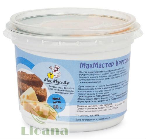 Крутон низкобелковый ароматный со вкусом сыра МакМастер, 80 гр.