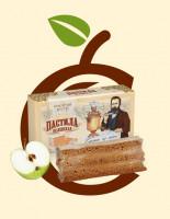 Пастила Белёвская яблочная (в коробке) 75гр