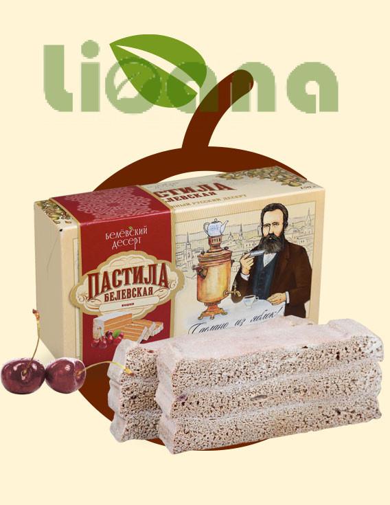 Пастила Белёвская с вишней (в коробке) 150гр