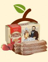 Пастила Белёвская с земляникой (в коробке) 150гр
