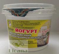 Йогурт с клубникой низкобелковый