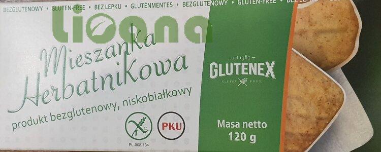 Печенье низкобелковое ассорти Glutenex 120 гр.