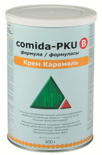 Comida-PKU B Формула Крем Карамель
