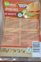 Хлеб безглютеновый, Мини багет 200 гр. gluten free bread mini baguette Balviten