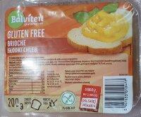 Хлеб безглютеновый, сладкий Бриошь 200 гр. gluten free bread brioche Balviten