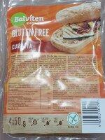 Хлеб безглютеновый, Чиабатта 200 гр. gluten free Ciabatta Balviten