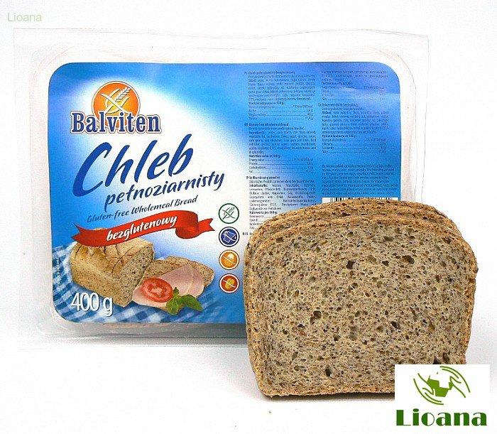 Безглютеновый хлеб цельнозерновой CHLEB PEŁNOZIARNISTY