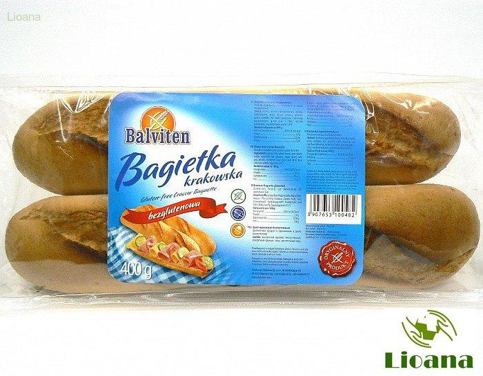 Безглютеновый багет CRACOW BAGUETTE