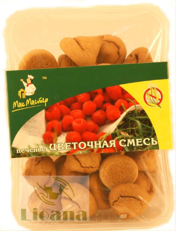 Печенье сахарное Цветочное МакМастер, 150 гр.