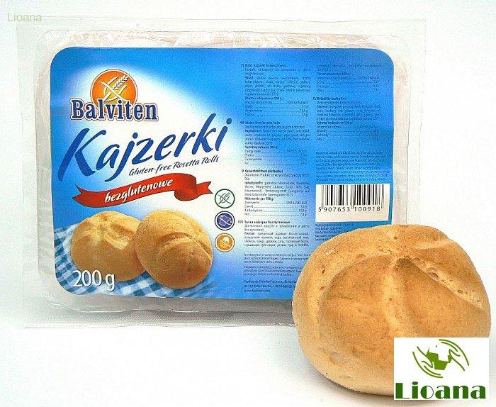Безглютеновые булочки Кайзерки BUTKI KAISER ROLLS