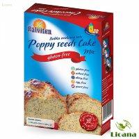 Безглютеновая смесь для кексов маковая POOPY SEEDS CAKE MIX
