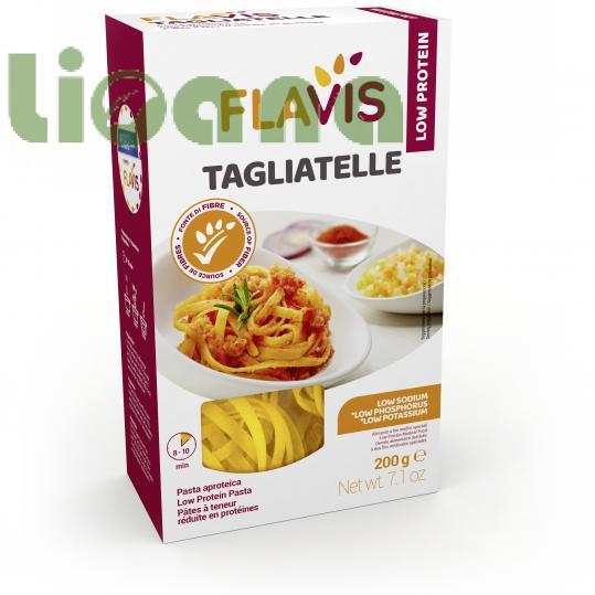 Макароны Тальятелле (tagliatelle) безбелковые Flavis, 200 гр.
