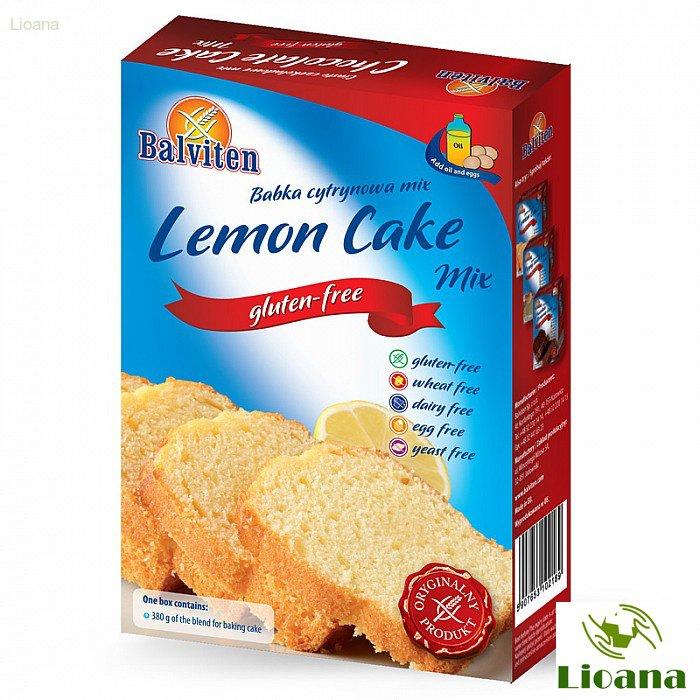 Безглютеновая смесь для выпечки кексов LEMON CAKE  MIX