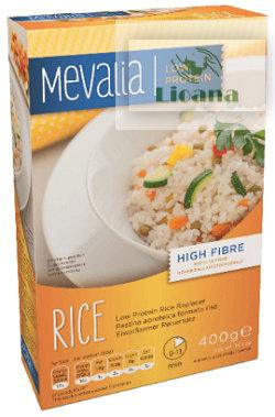 Заменитель риса с низким содержанием белка Mevalia (рис безбелковый)