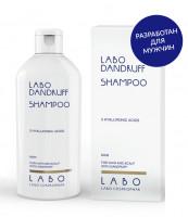 Шампунь против перхоти для мужчин, Labo Dandruff Shampoo 3HA, 200 мл.
