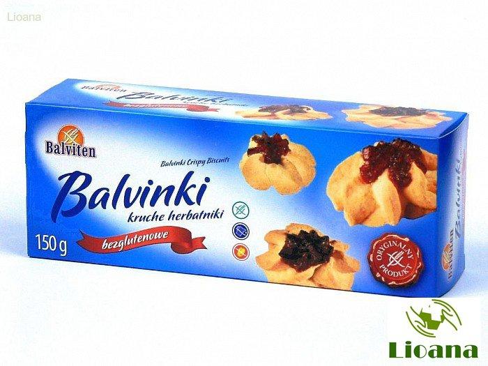 Безглютеновое песочное печенье Бальвинки Balvinki Crispy Biscuits