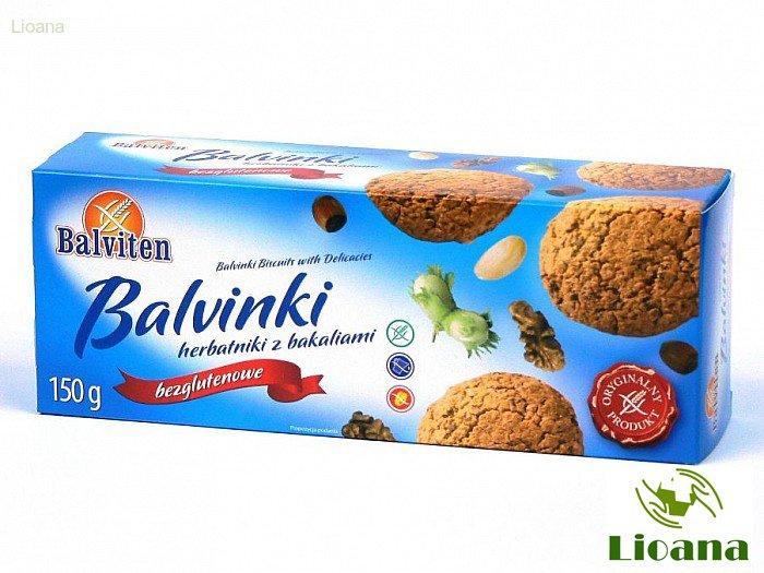 Безглютеновое печенье Бальвинки с сухофруктами Balvinki Herbatniki z Bakaliami