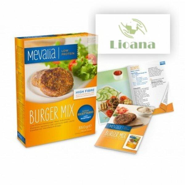 Смесь для приготовления бургеров с низким содержанием белка (Burger Mix) Mevalia