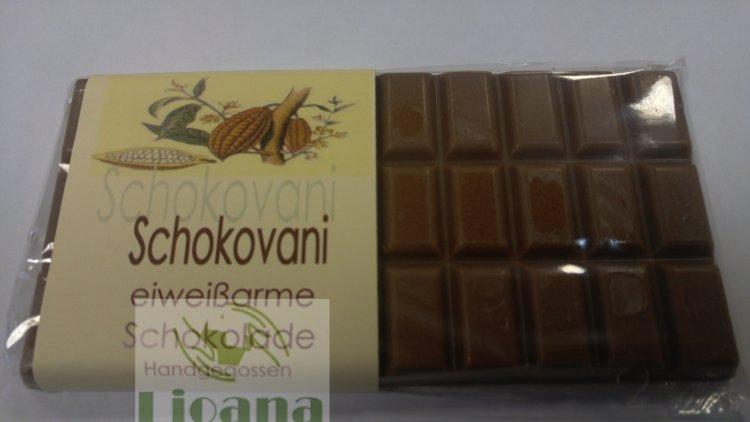 Шоколад ванильный низкобелковый Schokovani Huber