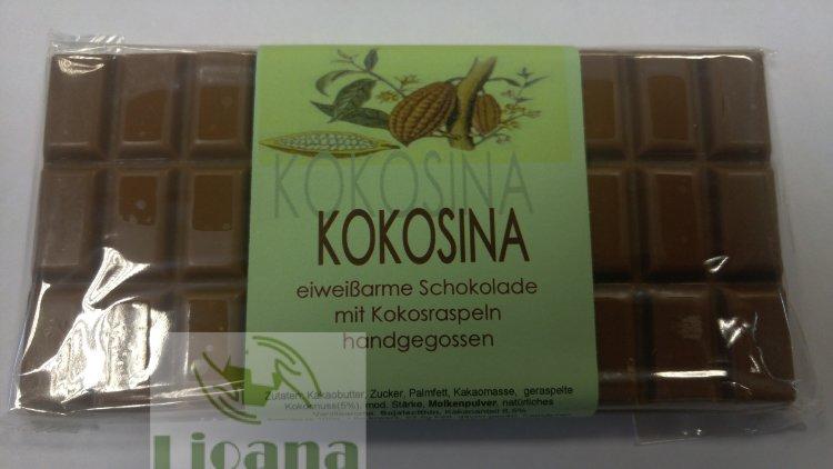 Шоколад с кокосом низкобелковый Kokosina Huber