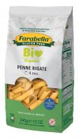 Pasta organic Penne rigate (corn&rice), Безглютеновая Паста органическая Пенне 340 гр. Farabella