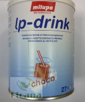 Концентрат низкобелкового шоколадного молока lp-drink Milupa