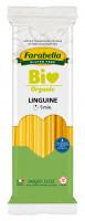 Pasta organic Linguine long (corn&rice), Безглютеновая Паста органическая длинная Лингуине 340 гр. Farabella