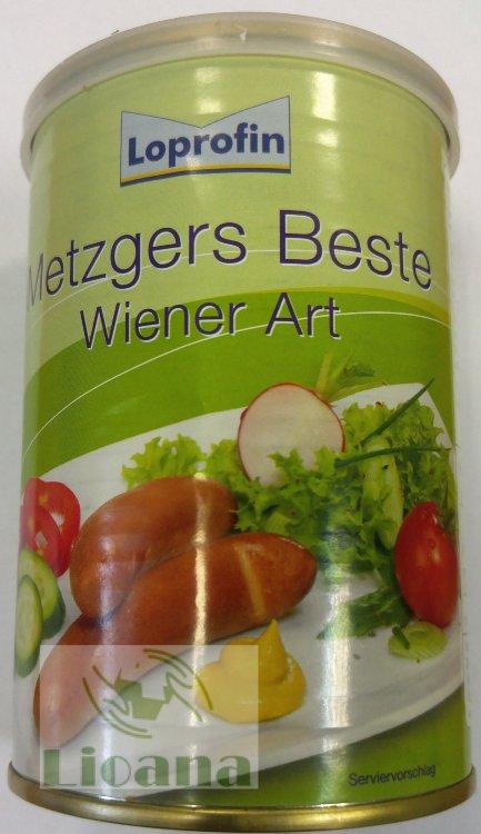Сосиски низкобелковые венские Wiener Art