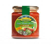 Tomato sauce with Artichokes, Безглютеновый Томатный соус с артишоком 280 гр. Farabella