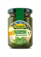 Pesto alla Genovese, Безглютеновый Соус Песто Дженовезе 130 гр. Farabella