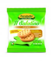 """Salatino """"Classic"""", Безглютеновое Печенье соленое Классическое 30 гр. Farabella"""