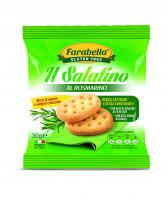 "Salatino ""Rosmary"", Безглютеновое Печенье соленое с розмарином 30 гр. Farabella"