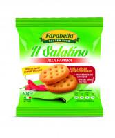 """Salatino """"Paprica"""", Безглютеновое Печенье соленое с паприкой 30 гр. Farabella"""